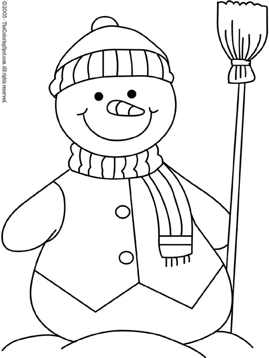 Snowman 2 | Audio Stories for Kids & Free Coloring Pages from Light ...