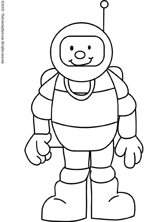 astronaut - Astronaut Coloring Pages Printable