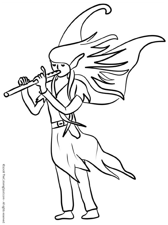 Fairy Audio Stories Kids Coloring Pages