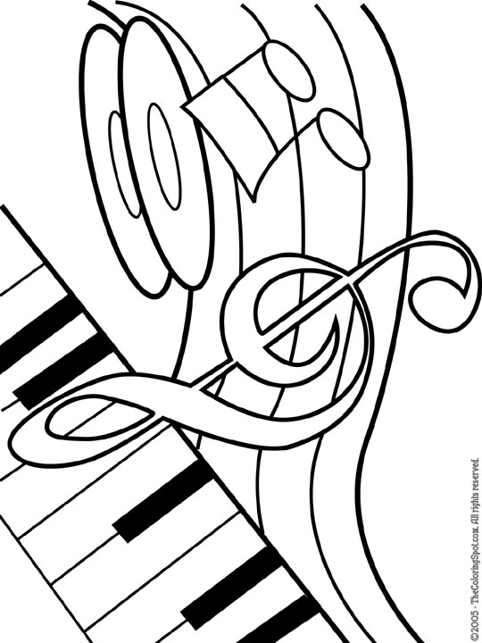 Musical Theme | Audio Stories for Kids & Free Coloring Pages from ...