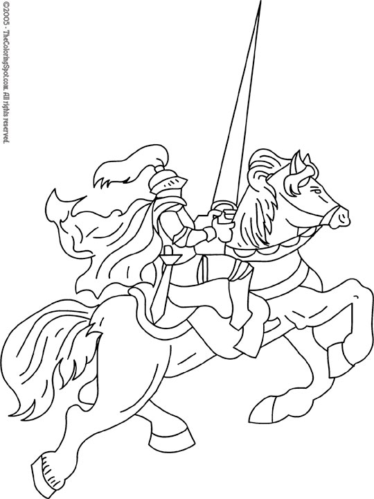 knight-jousting