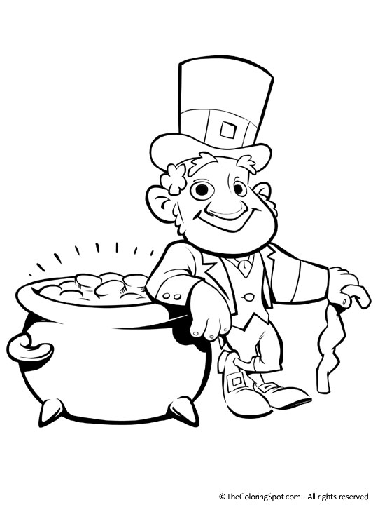 Impertinent image intended for printable leprechaun templates