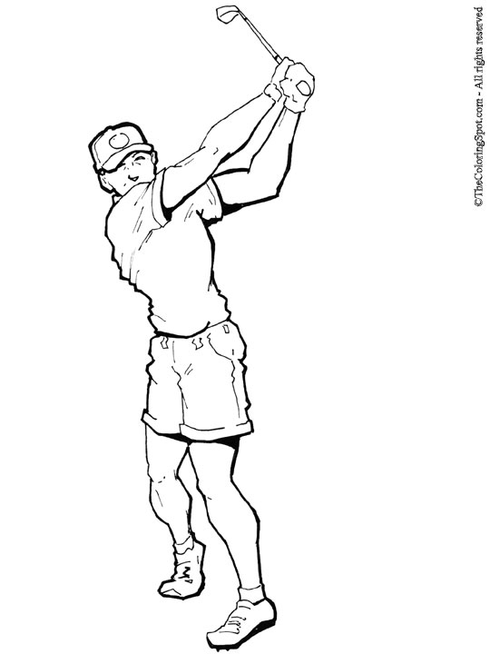 man-golfer