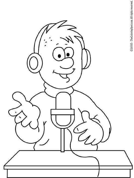 radio-announcer